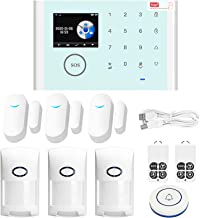CS118 WiFi+GSM+GPRS 3 IN 1 Network Intelligent Home Alarm System Tuya APP Remote Control 433MHz Home Secure Door Bell Smar...
