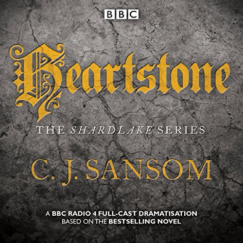 Shardlake: Heartstone audiobook cover art