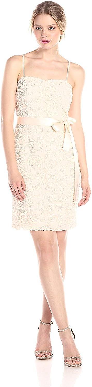 Jessica Simpson Women's Blush Rosette Dress