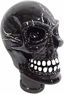 Auto Hub Black Skull Car Gear Shift Knob