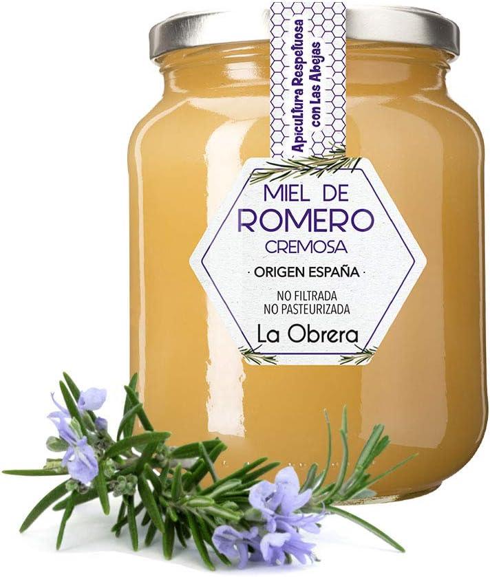 La Obrera - Miel de Romero Pura - 100% Origen España - 950 g: Amazon.es: Alimentación y bebidas