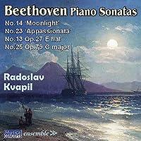 Beethoven/ Piano Sonatas No.13,14,23&25