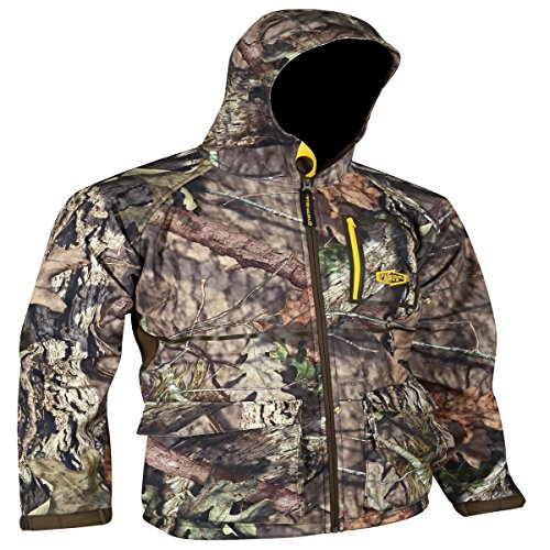 Yukon Gear Men's Waylay Softshell Hunting Jacket, Mossy Oak Break-Up Country, X-Large