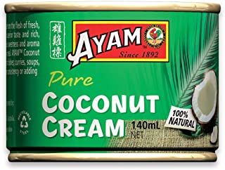 AYAM Premium Coconut Cream | 100% Pure | Gluten, Nut, Shellfish, Egg & Dairy Free | for Vegans | Great Taste | No Preserva...