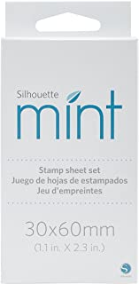 Silhouette Mint Stamp Sheet Set, Large