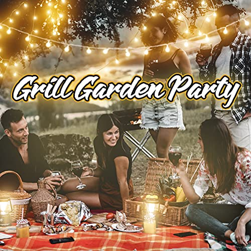 Grill Garden Party: The Best Background Jazz for Picnics, Swinging Brazilian Jazz, Unforgettable Date in the Park, Seaside Outdoor Cafe Music