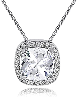 MESTIGE Women Crystal Charity Necklace with Swarovski Crystals