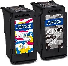 Jofoce Remanufacturado Canon PG-545XL CL-546XL Cartuchos de tinta (1 Negro 1 tricolor), Compatible con Canon Pixma MG2450 MG2550S iP2850 MX495 MG3050 MG3051 MG2950 MG3053 MX490 iP2800 iP2840 iP2855