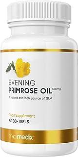 comprar comparacion Aceite de Onagra 1000 mg - Suplemento Natural Para la Menopausia y el Equilibrio Hormonal, Rico en vitamina E y Omega 6, P...