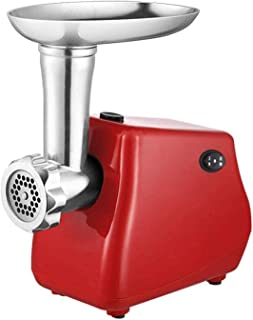 WSJTT Cut Electric Meat Grinder Stainless Steel Grinding Plates Sausage Stuffers,Multi-Function Automatic Meat Grinder Sma...