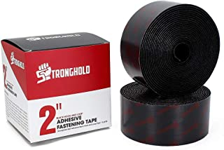 """2"""" Stronghold Hook and Loop Adhesive Backing Fastener Tape - 5 Yards Set"""
