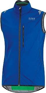 GORE BIKE WEAR Men's Cycling Vest, Super-Light, Compact, GORE WINDSTOPPER, WS AS Vest, Size M, Neon Yellow/Black, VWLELE