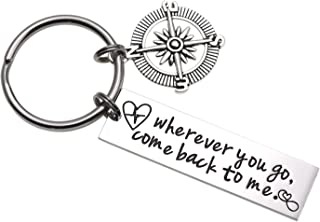 Wherever You Go Come Back to Me Graduation Gift Friend Gift College Gift Moving Gift Deploying Partner Boyfriend Girlfriend Husband Wife Gifts