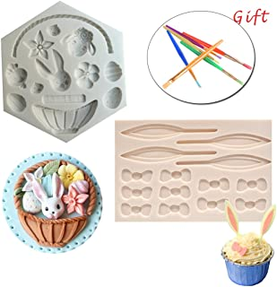 Best 3d easter bunny chocolate molds Reviews