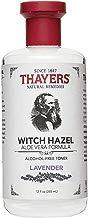 Thayers Alcohol-Free Lavender Witch Hazel Toner with Aloe Vera, 12 ounce bottle (Facial Toner)
