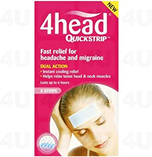 4Head Cooling Quick Strip, 4-Piece