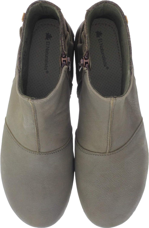 El Naturalista   Modell  N917 Angkor Farbe   Pleasent Kaki Leder Damen Stiefeletten  weltweite Verbreitung