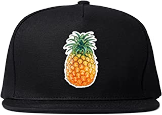 Pineapple Chest Logo Emoji Meme Snapback Hat Cap