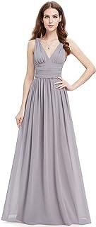 bcada4d07cf Ever-Pretty Sleeveless V-Neck Semi-Formal Maxi Evening Dress 09016
