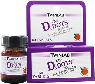 Twinlab Vitamin D3 1000 + K2dot