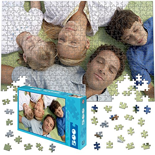 martinpuzzle Fotopuzzle 500 Teile, 46x30cm - Individuelles Puzzle mit Foto-Schachtel