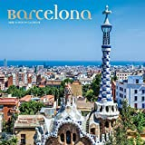 Barcelona 2020 12 x 12 Inch Monthly Square Wall Calendar with Foil Stamped Cover, Travel Europe Spain (English and Spanish Edition)