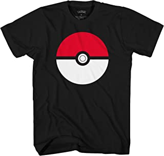 Mad Engine Boys' Big Pokémon Pokeball T-Shirt