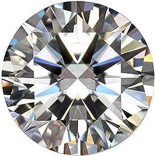 Pendant Size Moissanite Diamond 0.70 Ct Color DF Round Brilliant Cut Moissanite Genuine Loose Moissanite White VVS1 Clarity