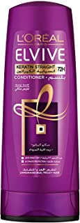 L'Oréal Paris Elvive Keratin Straight Conditioner, 400 ml, 6294016149820