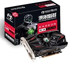 MAXSUN AMD Radeon RX 550 4GB GDDR5 ITX Computer PC Gaming Video Graphics Card GPU 128-Bit DirectX 12 PCI Express X16 3.0 D...