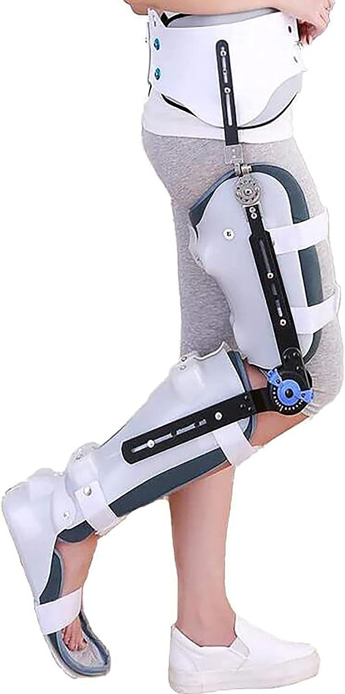 Portland Mall LJJ Adjustable Hip High quality new Knee Ankle Orthosis Foot Femoral Postoperativ