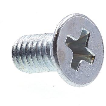 Flat Head Metric Prime-Line 9121322 Machine Screws Zinc Plated Steel 25-Pack M5-0.8 X 12MM Phillips Drive