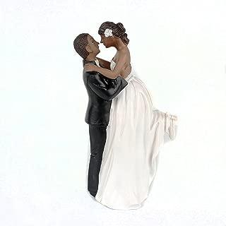 Homanda Black Resin Wedding Decoration Cake Topper for Wedding Engagement Bridal shower Wedding Anniversary