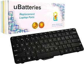 UBatteries Compatible Laptop Keyboard Replacement For HP Pavilion DM4T-3000 882373-001 DV3-4000 DM4-3000 DV4-4000 DV4-3000 596262-001 Compaq Presario CQ32-100 HP G32-300 G32-200 - Black