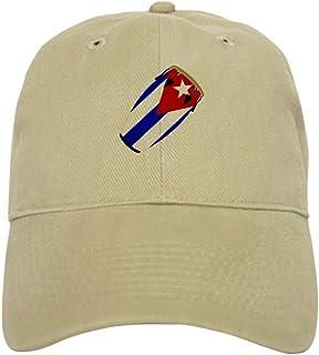 19d4fbe4bed2e CafePress - Conga Cuba Flag Music Cap - Baseball Cap with Adjustable  Closure