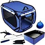 Pet Fit For Life Extra Large (32'x19'x19') Collapsible/Portable...