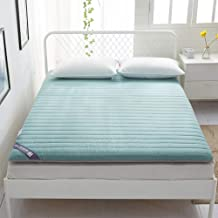 Futon Mattress Futon Beds, Thick Floor Mattress Tatami Padded Mattress, Quilted Thick Mattress with Pad Thin Abrasive Cott...