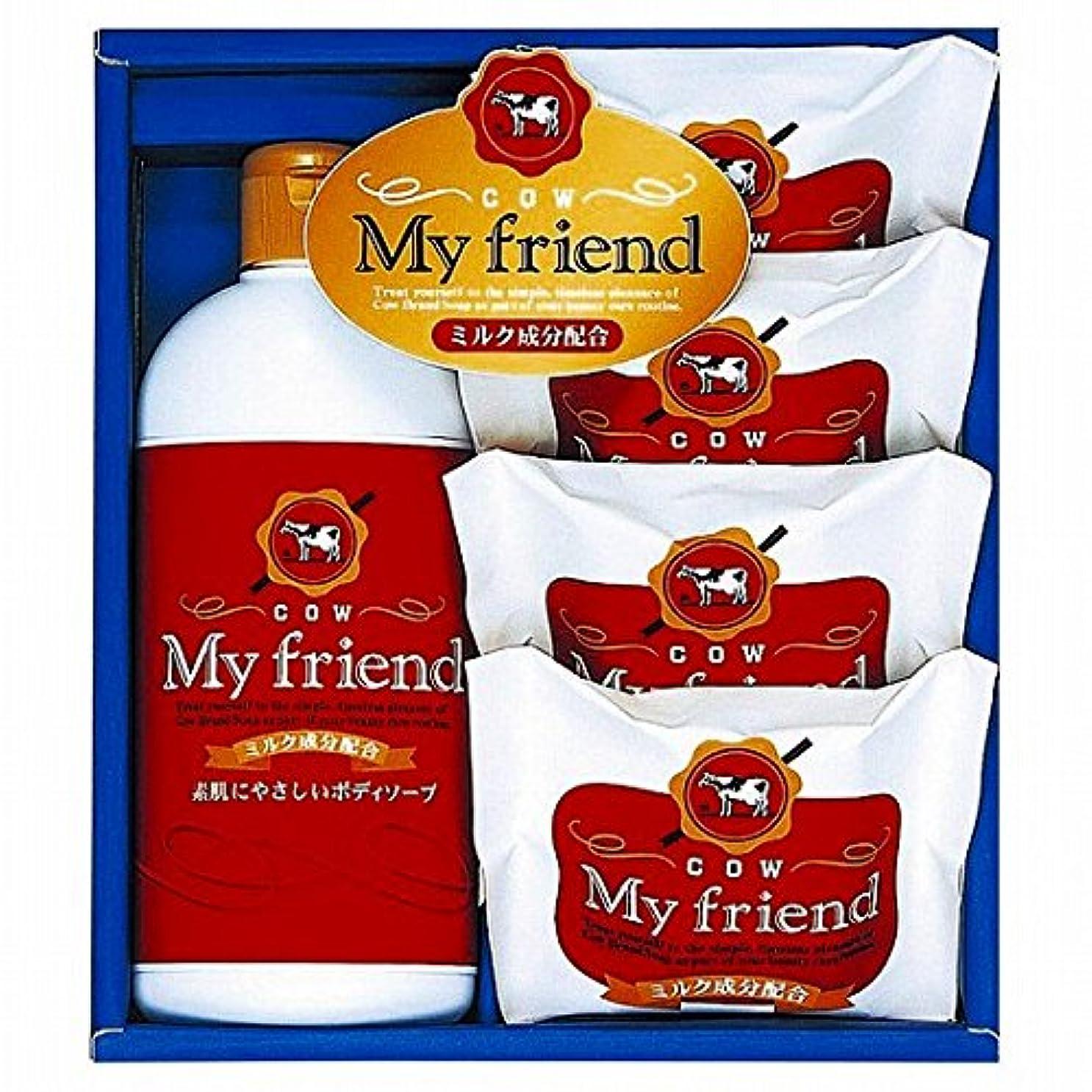 定刻教養があるお祝いnobrand 牛乳石鹸 マイフレンドボディソープセット (21940007)