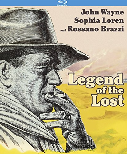 Legend of the Lost [Blu-ray]
