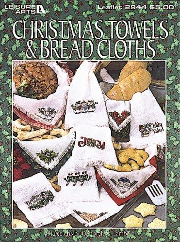 Christmas Towels & Bread Cloths (Leisure Arts #2944)