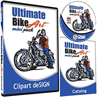 motorcycle clipart vector