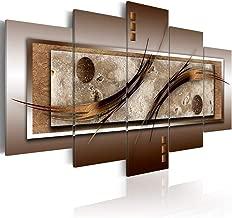 5 panel abstract wall art