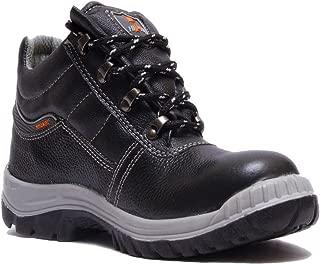 Hillson Mirage safety single density Shoes Black-Size 10