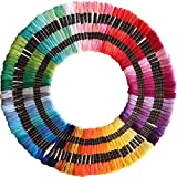 122 skeins Embroidery Floss - Embroidery Thread - Friendship Bracelet String for Cross Stitch, Hand Embroidery, String Art