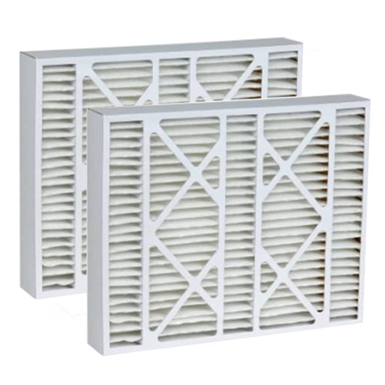 Tier1 16x25x5 Merv 8 Replacement for Honeywell FC100A1029 AC Furnace Filter 2 Pack