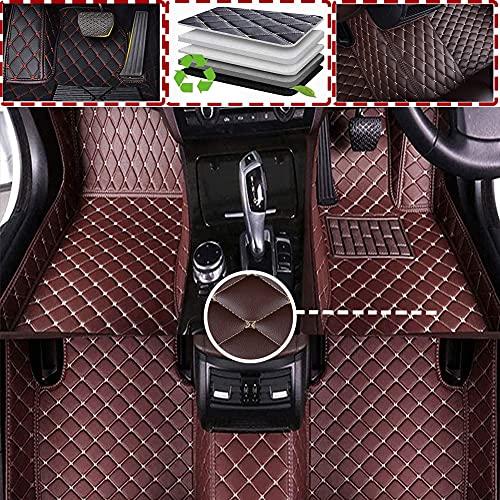 Alfombrilla De Coche Cuero Para Mazda 5 2011 2012 2013 2014 2015 2016(RHD) Cobertura Completa para Todo Clima Delanteras Traseros Esteras Moqueta Impermeable Antideslizante Auto Accesorios