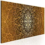 decomonkey Bilder Mandala 100x45 cm 1 Teilig Leinwandbilder