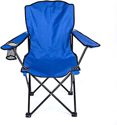 Amazon Com Ozark Red Folding Trail Deluxe Arm Chair W