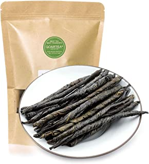 GOARTEA 250g (8.8 Oz) Premium Organic Spike Kuding Ku Ding Bitter Large-Leaf Herbal Chinese Green Tea kruiden thee