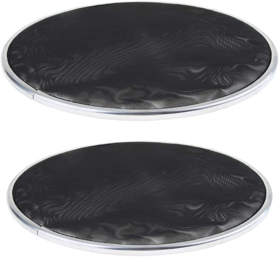 YIJU 2 Pieces Bass Austin Mall Drum Head Layer Mute Silent Double Skin Max 53% OFF